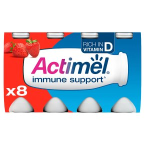 Actimel strawberry drink