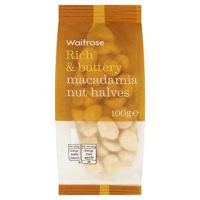 Waitrose nuts macadamia