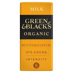 Green & Black's Milk Chocolate Butterscotch