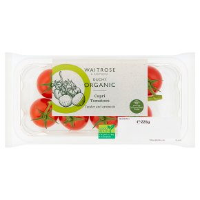 Waitrose Duchy Organic capri tomatoes
