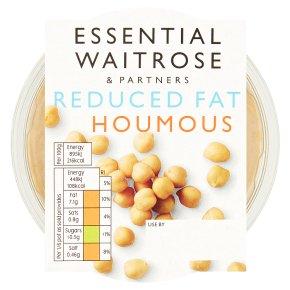 essential Waitrose reduced fat houmous