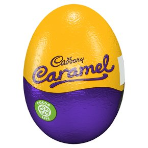 Cadbury Caramel Chocolate Egg single