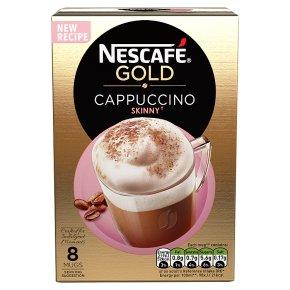 NESCAFÉ GOLD Skinny Cappuccino Coffee, 8 sachets