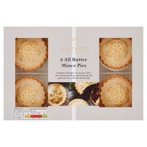 Waitrose 1 All Butter Mince Pies