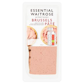 essential Waitrose Brussels smooth pork liver pâté