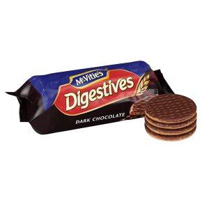 McVitie's Digestives - dark chocolate
