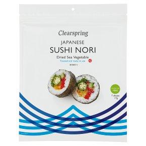 Clearspring 7 sheets sushi nori