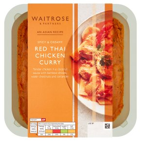 Waitrose red Thai chicken curry