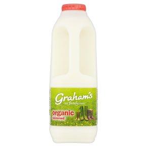 Graham's organic skimmed Scottish milk