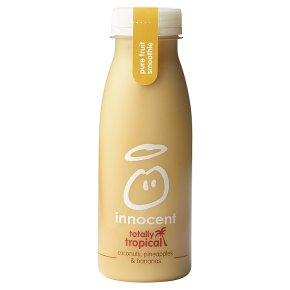 innocent smoothie pineapple & banana