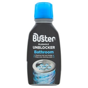 Buster bathroom plughole unblocker