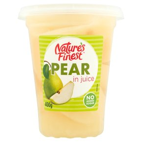 Nature's Finest pear in juice