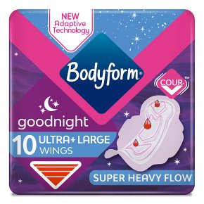 Bodyform Ultra Towels Goodnight Wings