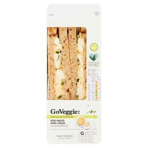 Waitrose Egg Mayonnaise & Cress Sandwich