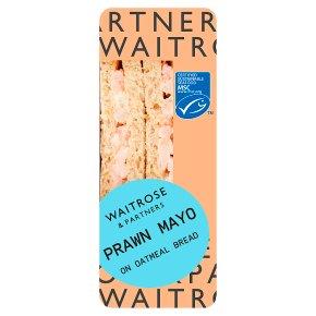 Waitrose MSC Atlantic prawns sandwich