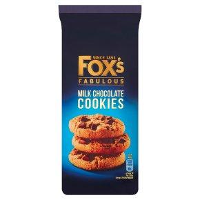 Fox's chunkie milk chocolate cookies