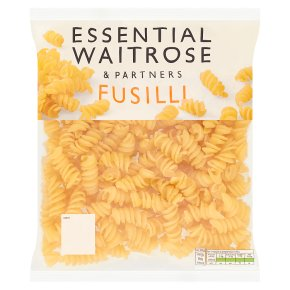essential Waitrose fresh pasta fusilli