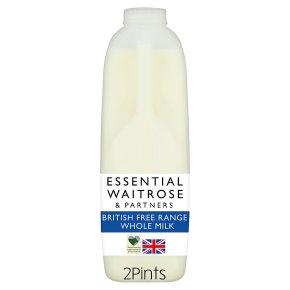 essential Waitrose Whole Milk