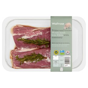 Waitrose Welsh lamb loin fillets
