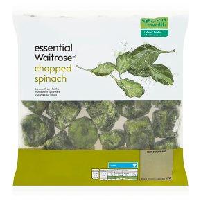 essential Waitrose Chopped Spinach
