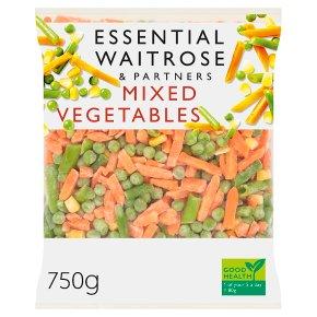 essential Waitrose vegetable mix