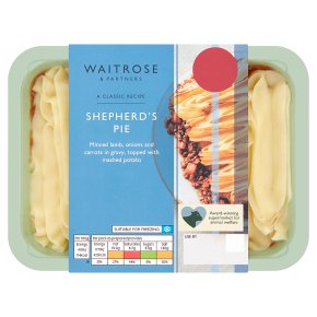 Waitrose shepherd's pie