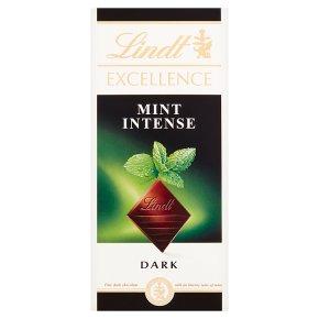 Lindt Excellence mint intense dark chocolate