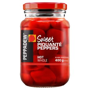 Peppadew hot sweet piquanté peppers