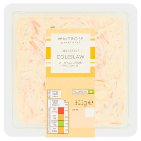 Waitrose deli style coleslaw