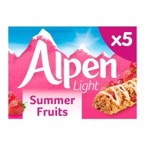Alpen bars light 5 summer fruits