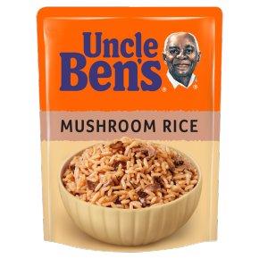 Uncle Ben's special mushroom rice