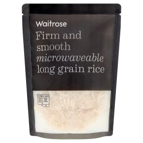 Waitrose microwavable long grain rice