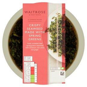Waitrose crispy seaweed
