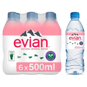 Evian still mineral water