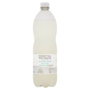 essential Waitrose Sugar Free Bitter Lemon