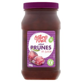 Nature's Finest pitted prunes in juice