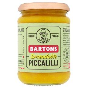 Bartons spreadable piccalilli
