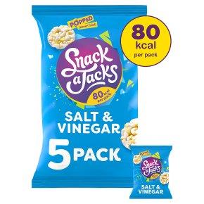 Snack a Jacks Salt & vinegar multi pack low fat rice cakes
