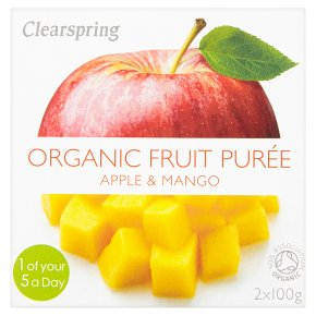 Clearspring Fruit Pureé Apple & Mango