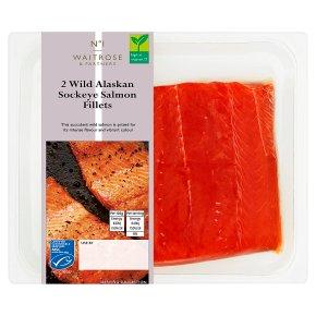 Waitrose 1 Two Wild Alaskan Salmon Fillets