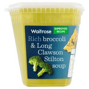 Waitrose broccoli & stilton soup