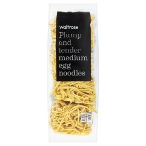 Waitrose medium egg noodles