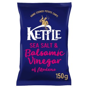 Kettle Chips Salt & Balsamic Vinegar Crisps