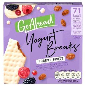 Go ahead! yogurt breaks forest fruit