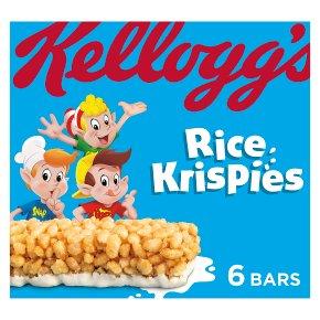 Kellogg's Rice Krispies cereal & milk bars