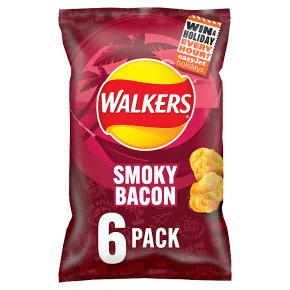 Walkers smoky bacon crisps