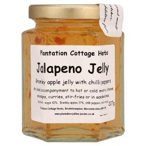 Plantation cottage jalapeno jelly apple&hot chilli