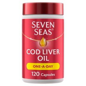 7 Seas one-a-day pure cod liver oil