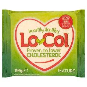 Lo-Col mature cholesterol lowering cheese alternative