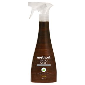 Method touch wood almond polish